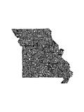 Typographic Missouri