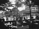 Street Cafe and Potsdamer Platz in Berlin  1920-1929
