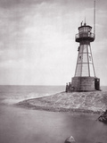 The Lighthouse of Neufahrwasser  1900