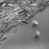 Sailboats on the Douro  1940
