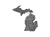 Typographic Michigan