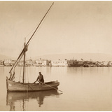 Suez Harbor  1895