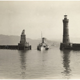 Lighthouse of Lindau  1913