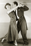 Couple While Dancing Tango  1929