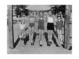 Children at Lake Tegel Beach  1938
