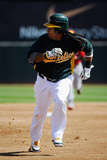 Phoenix  AZ - March 10: Cincinnati Reds v Oakland Athletics - Manny Ramirez