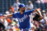 Surprise  AZ - March 12: San Francisco Giants v Kansas City Royals - Luke Hochevar