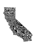 Typographic California