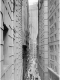 Street Canyon in New York  1926