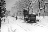 Winter Ringstrasse in Vienna  1931