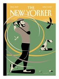 A Whiff of Cool Air - The New Yorker Cover  April 9  2012