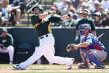 Phoenix  AZ - March 20: Chicago Cubs v Oakland Athletics - Bryan LaHair