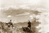 View from the Top of Fujiyama  1909