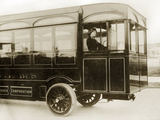 Bus Driver in London  1913