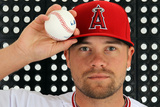Tempe  AZ - February 29: Los Angeles Angels Photo Day - Ryan Langerhans