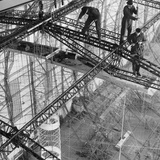 Construction of the Airship 'Hindenburg'  1934