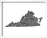 Typographic Virginia