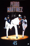 Pedro Martinez Three Photo Mergegraph Autographed Photo (Hand Signed Collectable)