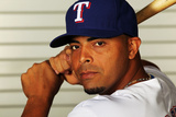 Surprise  AZ - February 28: Texas Rangers Photo Day - Nelson Cruz