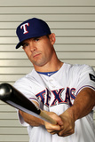 Surprise  AZ - February 28: Texas Rangers Photo Day - Michael Young