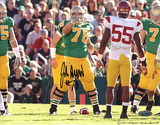 John Sullivan Over Pointing on Line VS USC Photo
