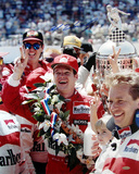 Al Unser Jr Celebration at Indy Autographed Photo (Hand Signed Collectable)