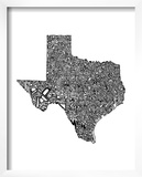 Typographic Texas