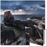 L'orage approche Acrylique par Strand