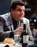 Steve Schirripa At Dinner Table Autographed Photo (Hand Signed Collectable)