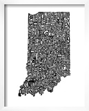 Typographic Indiana