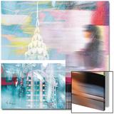 NY City Walk Acrylique par Luger