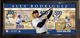 Alex Rodriguez Career Home Runs Collage