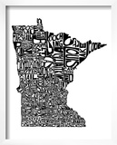Typographic Minnesota