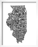 Typographic Illinois