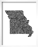 Typographic Missouri