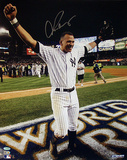 Alex Rodriguez Arms Raised 2009 WS Celebration Vertical