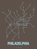 Philadelphia (Charcoal Brown &amp; Light Blue)