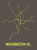 Washington DC (Charcoal Brown &amp; Lime)