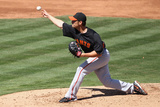 Tempe  AZ - March 10: San Francisco Giants v Los Angeles Angels of Anaheim - Jorge Cantu