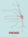 Chicago (Light Blue &amp; Red)