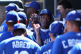 Surprise  AZ - March 12: San Francisco Giants v Kansas City Royals - Jarrod Dyson  Alex Gordon