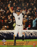 Alex Rodriguez 2009 WS Running on the Field Celebration Vertical