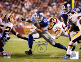 Tiki Barber Run vs Redskins Horizontal Photo