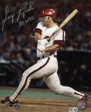 Greg Luzinski Philadelphia Phillies with 80 WSC  Autographed Photo (Hand Signed Collectable)