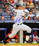 Jesus Montero Second Career Homerun Autographed Photo (Hand Signed Collectable)