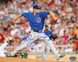 Randy Wells Chicago Cubs Autographed Photo (Hand Signed Collectable)