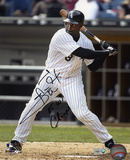 Carl Everett Chicago White Sox with 05 WS Champs Inscription