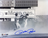 Pete Rose Cincinnati Reds Fight with Bud Harrelson B&W Autographed Photo (Hand Signed Collectable)