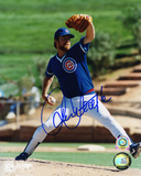 Rick Sutcliffe Chicago Cubs Pitching Autographed Photo (Hand Signed Collectable)