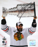 Andrew Ladd Chicago Blackhawks 2010 Stanley Cup Autographed Photo (Hand Signed Collectable)